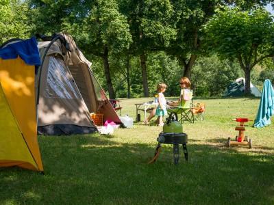 A family campsite